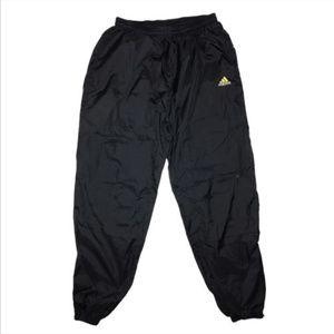 Adidas Mens Vintage Windbreaker Track Pants E36